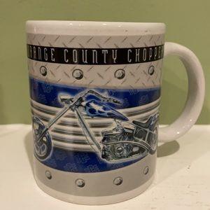 Orange County Choppers Coffee Mug w/ Motorcycle